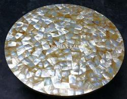 Mother Of Pearl Sea Shell Table Top