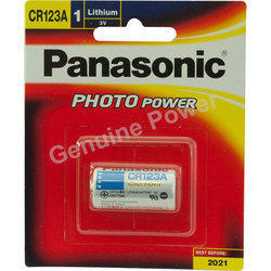 Panasonic CR123AW Lithium Battery