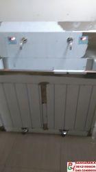 Hospital Two Bay Scrub Sink