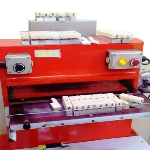 Number Plate Pressing Machine
