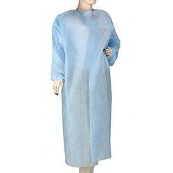 Blue Disposable Non Woven Surgical Gown