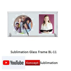 Sublimation Glass Frame BL 11