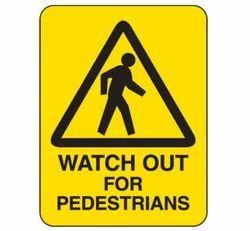 Heavy-Duty Hazardous Work Site Signs