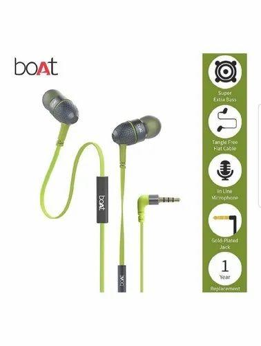 d1cb3b742a5 Earphones - Boat Bassheads 225 In Ear Super Extra Bass Headphones ...