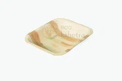 Rectangular Areca Leaf Bowl