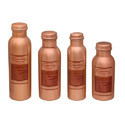 Lacquer Copper Water Bottle (Different Size)