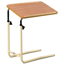 Bed Food Table Trolley