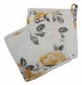 Elan Flower Cotton Pot Holder
