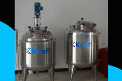 SS Jacketed Mixing Tank