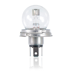 Assymetrical Head Light Reflector Bulb  Double Filament