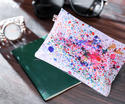Satin Printed Pouch