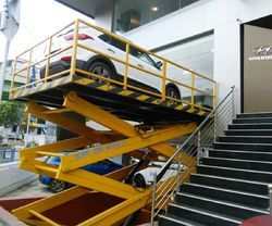 Scissor Type Hydraulic Car Lift