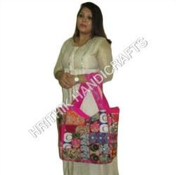 Handicraft Bags Double Pocket Jhola Bags Exporter From New Delhi