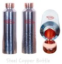 CopperKing Half-Hammered Steel Copper Bottle