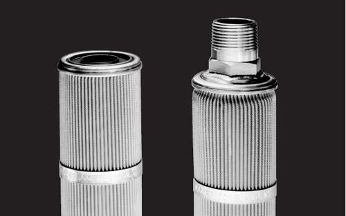 sintered glass filter pore size