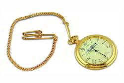 Gold Chain Pocket Watch