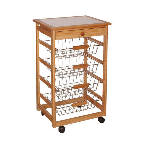 Wooden Kitchen Trolleys