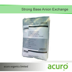 Strong Base Anion Exchange