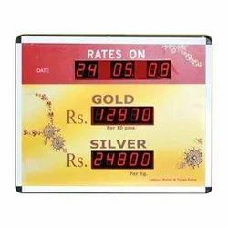 Jewelry Rate Display Board