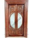 Teakwood Pooja Door