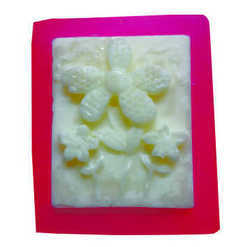 85gms - Floral 2 - Silicone Soap Mold