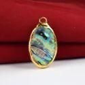 Abalone Gemstone Pendant
