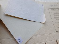 Textured Cotton Rag Handmade Paper For Journal Makers