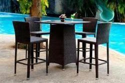Wicker Outdoor Bar Furniture