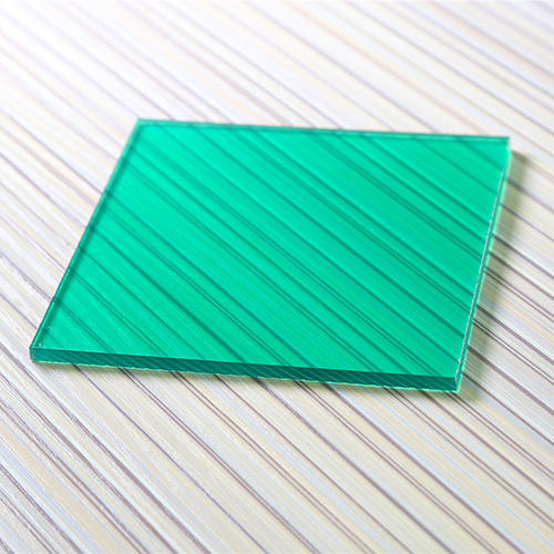 Polycarbonate Colored Sheets Green Transparent