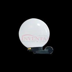 LED Globe Wall Light