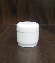 25 Gram Cream Jar With Cap and Wad