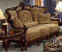 Traditional Wooden Sofa Set