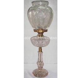 Clear Crystal Oil Lamp