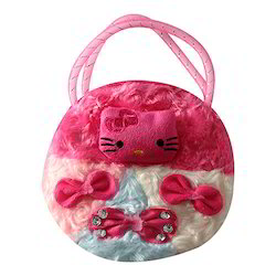 Beautiful White and Pink Color Kids Bag Occasion Gift Item