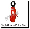 Single Sheave Pulley Open