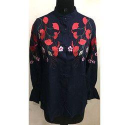 Floral Printed Ladies Top