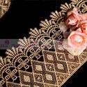 New Style Top Quality African Zari Lace