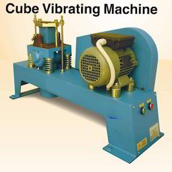Cube Vibrating Machines For 70.6 Mm Mould