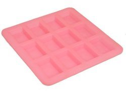 Rectangle Silicone Soap Mold 25 gms