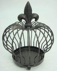 Cage Shaped Crown