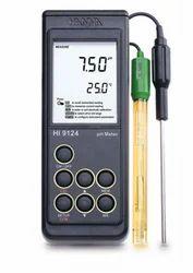 Waterproof Portable pH Meter - 9124