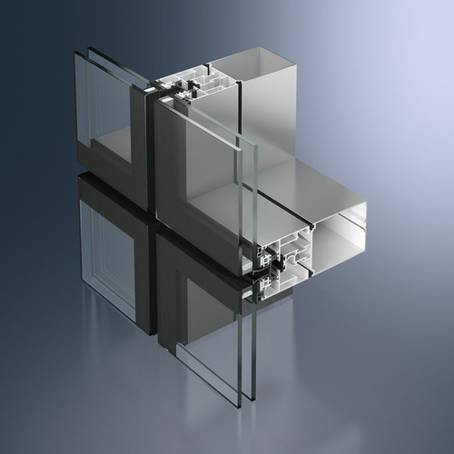 Structural Glazing Semi Unitized Glazing System