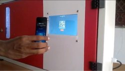 Bharat Qr And Upi Sanitary Napkin Vending Machine