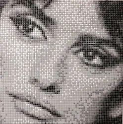 Portrait Mosaic Tiles