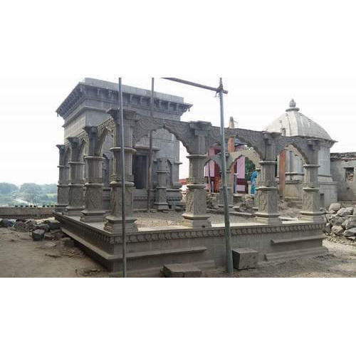 Stone Temple Grey Stone Temple Manufacturer From Indore