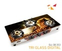 SU 3B 353 Tri Glass Digital Gas Stove