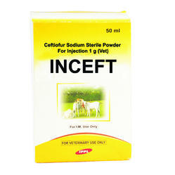 Ceftiofur Sodium Sterile Powder for Injection 1 g (Vet)