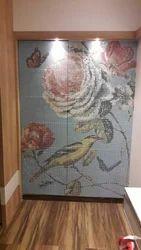 Mini Micro Mosaic Mural Avion Mosaics