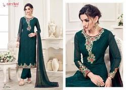Designer Embroidery Suit Lamis Vol-2 by Sarvada Creation