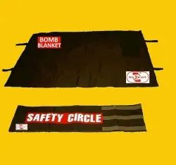 Bomb Suppression Blanket & Safety Circle